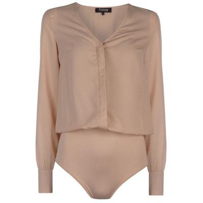 Body chemise manche longue Body chemise manche longue FIRETRAP 5231a935d46