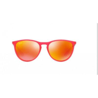 Lunettes de soleil pour enfant RAY BAN Rouge RJ 9060S 70096Q 50 15 Lunettes  de 5ca8eac5e53d