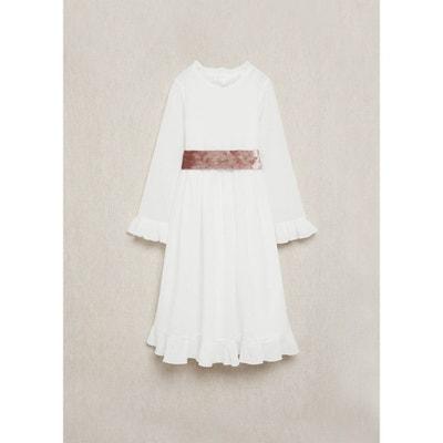 Robe Blanche Ceremonie Fille La Redoute