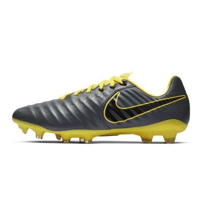 save off 084c2 74815 Chaussures football Nike Tiempo Legend VII Pro FG Gris Jaune NIKE