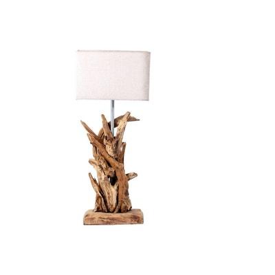 Lampe Bois Naturel La Redoute