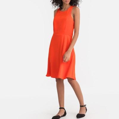 e7ec5d86d83 Robe orange femme