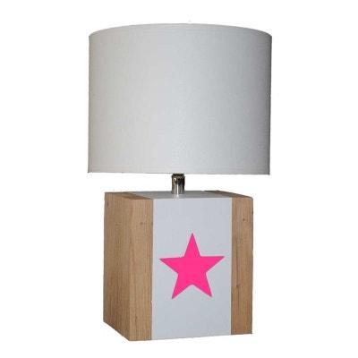 lampe de chevet rose la redoute. Black Bedroom Furniture Sets. Home Design Ideas