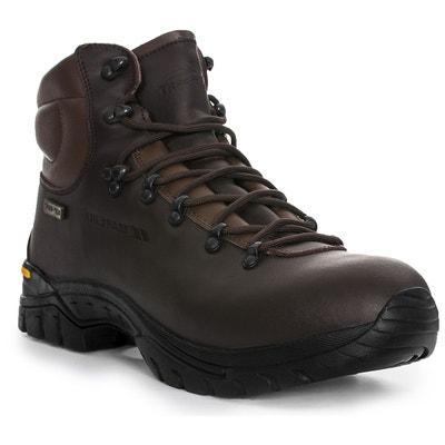 14308192f12 WALKER bottes de marche en cuir hommes TRESPASS