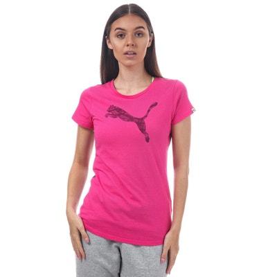 Femme Shirt En La Puma Manche Tee Courte Redoute Solde qtxCF6CZRw