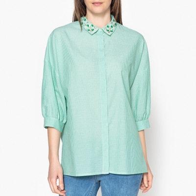ad87fb69821 Рубашка в полоску PEPSA Рубашка в полоску PEPSA ESSENTIEL ANTWERP.  Финальная цена