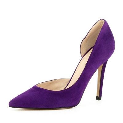 pas mal lisse les dernières nouveautés Escarpin violet femme | La Redoute