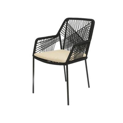 Chaise De Jardin Seville Noir