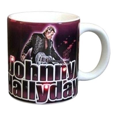4874fb3a32a5f Mug Rock Johnny Hallyday à diodes clignotantes Mug Rock Johnny Hallyday à  diodes clignotantes SUD CARGO