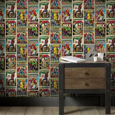Papier Peint Marvel Action Heroes 10m X 52cm Papier Peint Marvel Action  Heroes 10m X 52cm