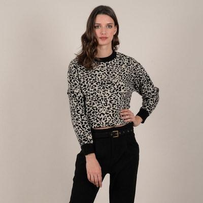 regarder prix raisonnable brillance des couleurs Pull leopard femme | La Redoute