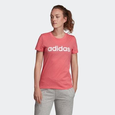 T shirt adidas rose femme | La Redoute