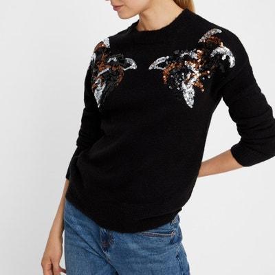 Jersey con cuello redondo de lana 69a826707891