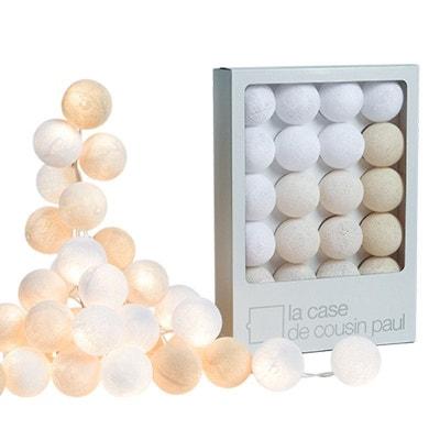 Guirlande led, boules lumineuses   La Redoute