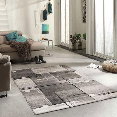 tapis gris design la redoute. Black Bedroom Furniture Sets. Home Design Ideas