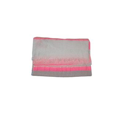 Echarpe en coton rayures multicolores - Parcmetre DERHY ab278fd74f5