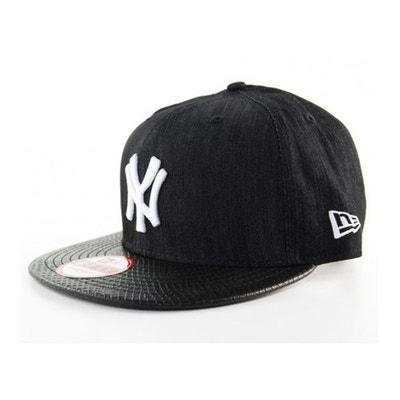 07b8836166c Casquette New Era New York Yankees Noir Denim Snake Snapback Casquette New  Era New York Yankees