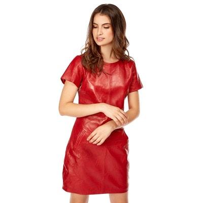 Robe Cuir Rouge La Redoute