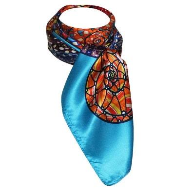 Grand foulard soie femme en solde   La Redoute 31d8a7435fc