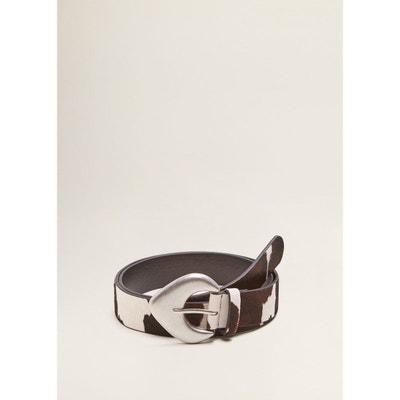 d9d99e611f8 Ceinture cuir boucle MANGO. «