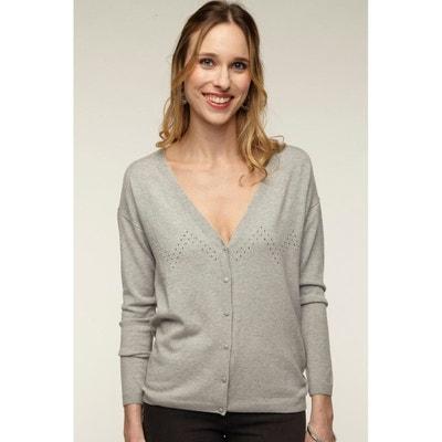 style de mode site web pour réduction grosses soldes Gilet femme NAF NAF | La Redoute