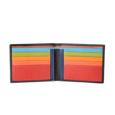 50f0b41913 Portefeuille pour homme porte-cartes de crédit en cuir véritable pour 8  cartes magnétiques et