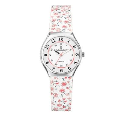 1cbf50f9f6de1 Montre fille Lulu Castagnette Mini Star bracelet cuir véritable Montre fille  Lulu Castagnette Mini Star bracelet
