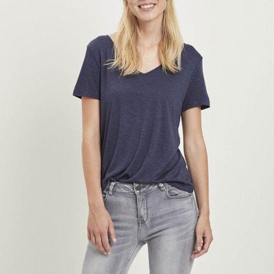 daf14494abc73 T- shirt col V Vinoel T- shirt col V Vinoel VILA
