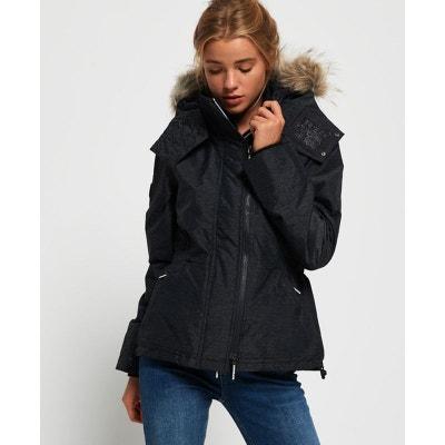 bffaf1172be Veste à capuche bordée de fausse fourrure Winter SD-Windattacker SUPERDRY