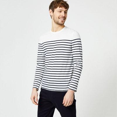 065047835300 T-shirt marinière manches longues T-shirt marinière manches longues MONOPRIX