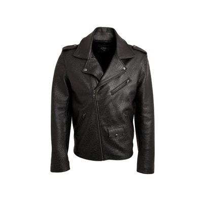 Blouson, veste en cuir homme | La Redoute