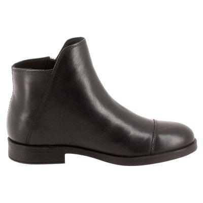 2728b9c48b711 Boots cuir J AGATA C Boots cuir J AGATA C GEOX