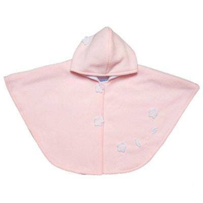 Poncho//cape//veste à capuche polaire bébé enfant garçon//fille de 0 à 2 ans NEUF
