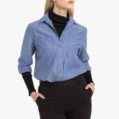 Nouveau Chemise chambray femme | La Redoute TB-23