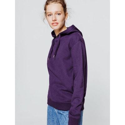 merveilleux divers styles sweat violet homme la redoute