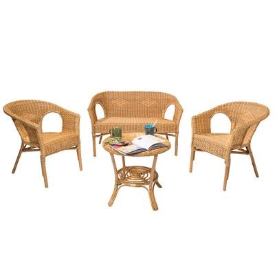Salon de jardin Rotin design | La Redoute
