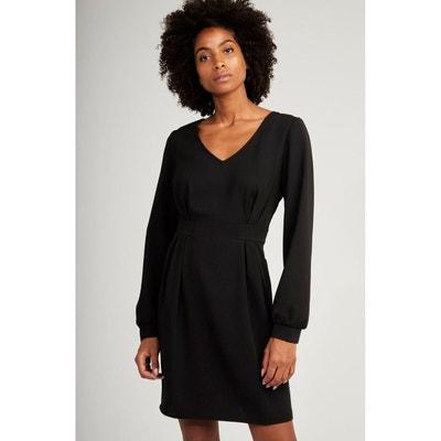 Robe Noire Cintree La Redoute