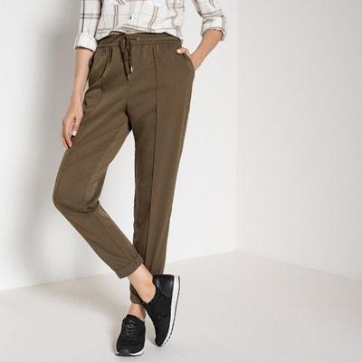 Pantaloni dritti, cintura elasticizzata dietro Pantaloni dritti, cintura elasticizzata dietro ANNE WEYBURN
