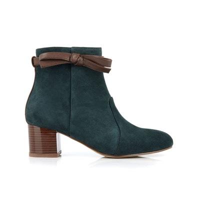 6a932673528cda Boots cuir suède Ecritada Boots cuir suède Ecritada MELLOW YELLOW