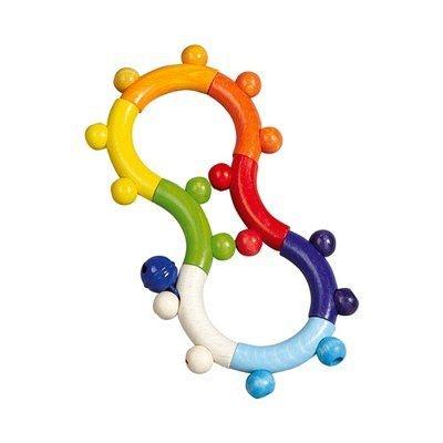 36543b0597d4f Hess Spielzeug Hochet d éveil 8 hochet bébé Hess Spielzeug Hochet d éveil 8