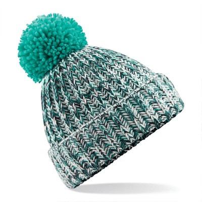 Bonnet tricoté avec pompon Bonnet tricoté avec pompon BEECHFIELD 99c83ac54af