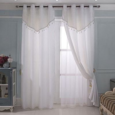 rideau cantonniere la redoute. Black Bedroom Furniture Sets. Home Design Ideas