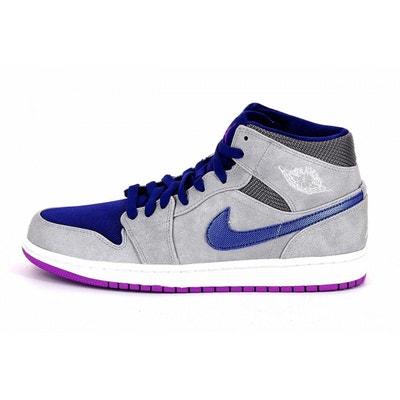 detailed look 9053b 08663 Basket Nike Air Jordan 1 Mid - 554724-008 Basket Nike Air Jordan 1 Mid