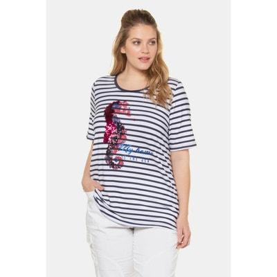 Tee Shirt Paillette Reversible La Redoute