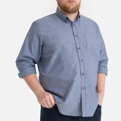 Ex prochain à manches longues homme chemise carreaux blanchi-nouvelle aubaine