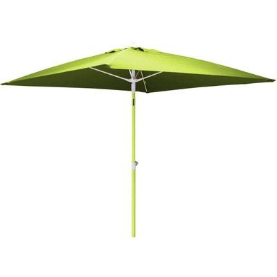 Parasol inclinable carré aluminium 2 mètres Parasol inclinable carré  aluminium 2 mètres PROLOISIRS b879728e5f46