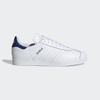 économiser d89ad 65c37 Adidas gazelle cuir blanc femme   La Redoute