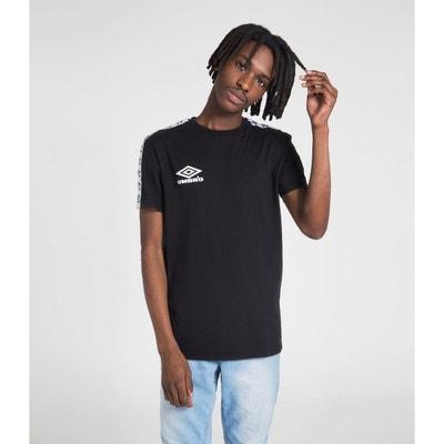 fe0d0f915bad3 T-shirt   Débardeur COTON Homme T-shirt Coton Bande Tissee Street T-. UMBRO