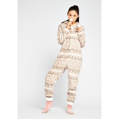 22b8c8081d5a0 Combinaison pyjama imprimé Combinaison pyjama imprimé LOLALIZA