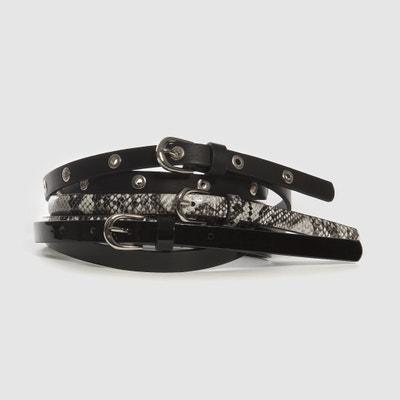 048db5eb9 Belts   Leather Belts & Waist Belts For Women   La Redoute